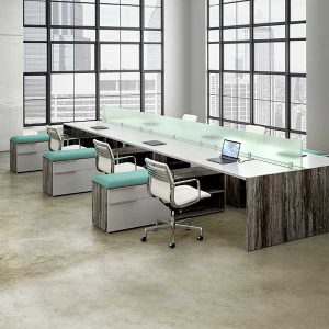 DeskMakers Synapse Open Plan Benching
