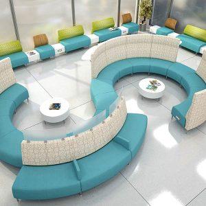 Krug Zola Privacy Lounge Seating