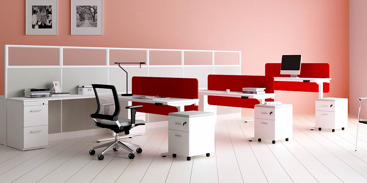 Use Benching Workstations to Create A Cohesive Workspace in Los Angeles