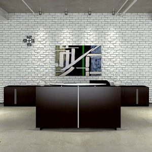 Cherryman Verde Reception Desk