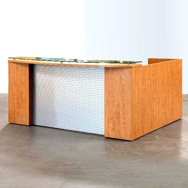 DeskMakers Custom Reception Desk