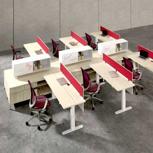 DeskMakers Hover Height Adjustable Table