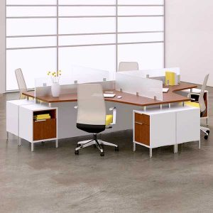DeskMakers TeamWorx Open Plan Desking