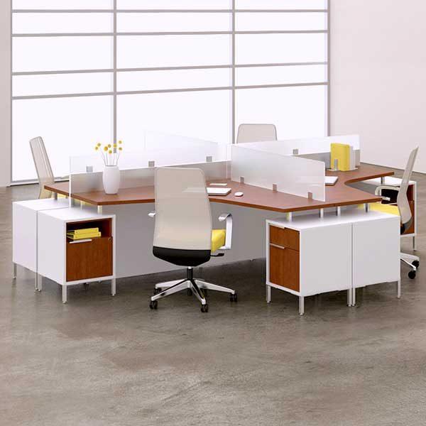 DeskMakers TeamWorx Open Plan Desking