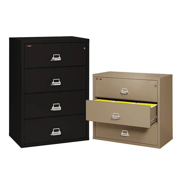 FireKing Lateral File Cabinet