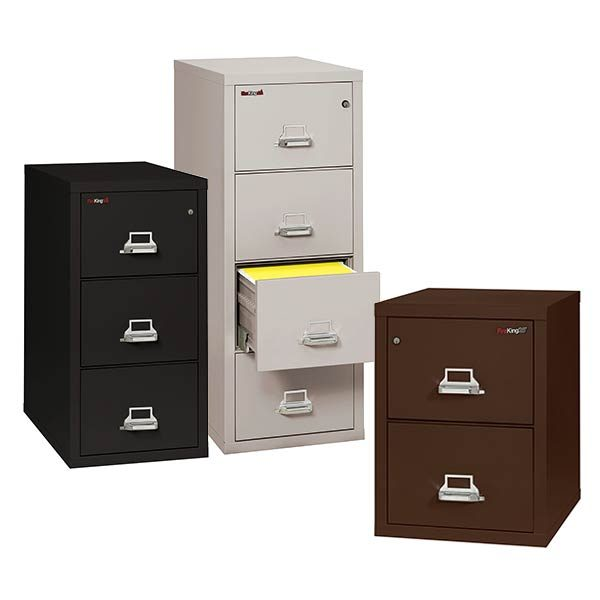 FireKing Vertical File Cabinet