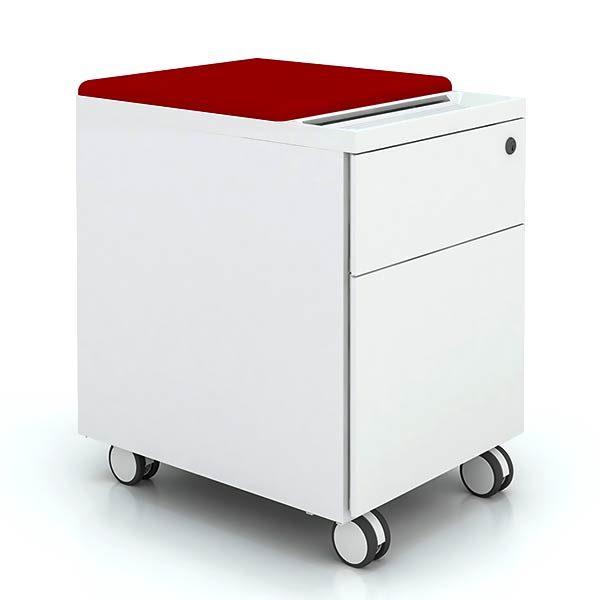 Friant My-Hite File Pedestal