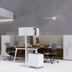 Friant Novo Open Plan Workstation