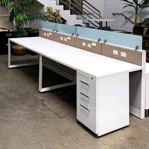 Friant Used Interra Cubicle Double Workstation