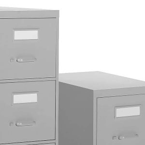 Global 2600 Series Vertical File Cabinet