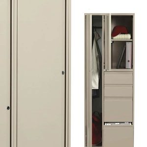 Global Personal Tower Storage Cabinet