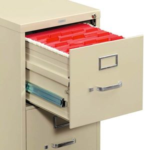 HON 210 Series Vertical File Cabinet