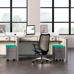 HON Abound Height Adjustable Workstation