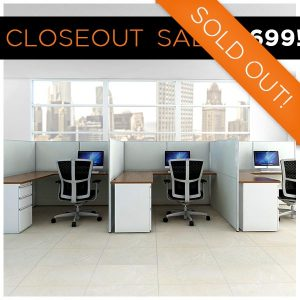 ODS Clearance Sale Crossroads Blend Cubicle 6x6