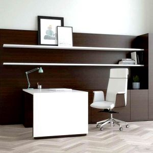 OFS Slate Height Adjustable Desk