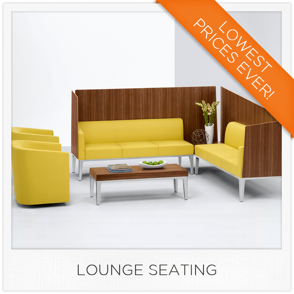 Discount Office Furniture Lounge Seating