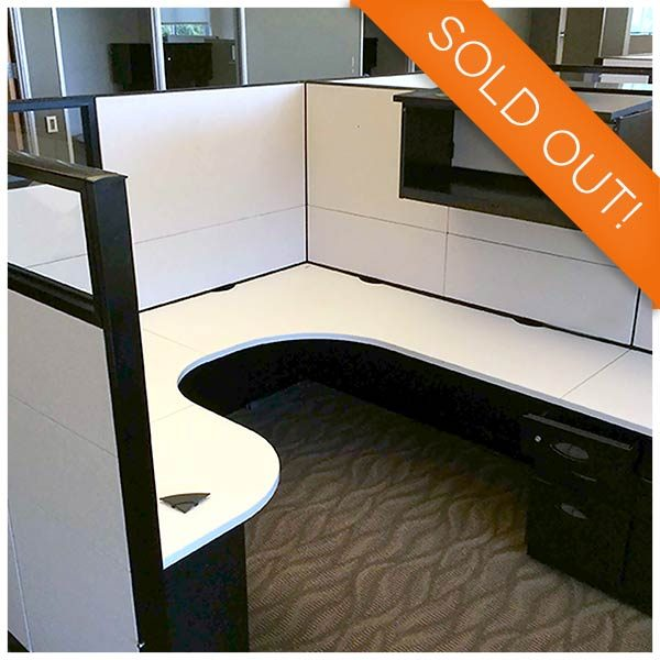 Steelcase Used Answer Cubicle 6x6 - 8x8