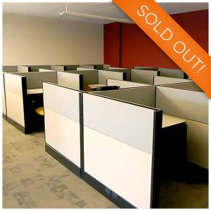 Herman Miller Used Ethospace Cubicle 6x6