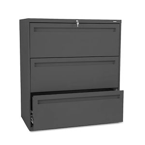 "HON Used 700 Series Lateral File Cabinet 36""W 3-Drawer"