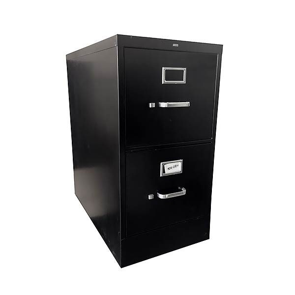 HON Used Vertical File Cabinet 2-Drawer