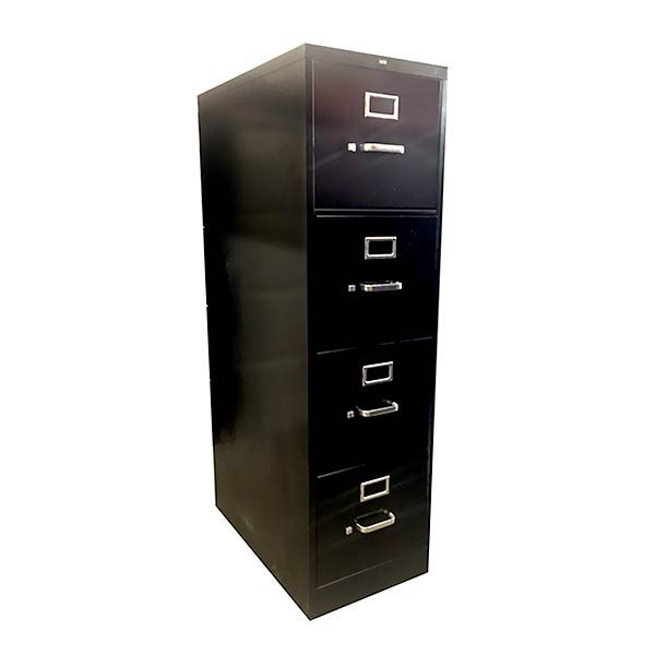 HON Used Vertical File Cabinet 4-Drawer