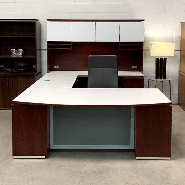 Maverick Used Canyon Executive Desk Set A