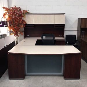 Maverick Used Canyon Executive Desk Set B
