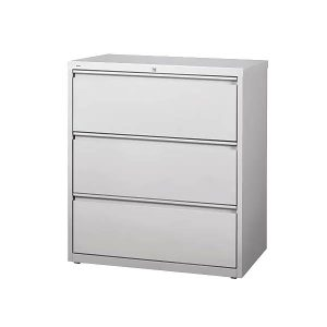 "Maxon Used Lateral File Cabinet 36""W 3-Drawer"