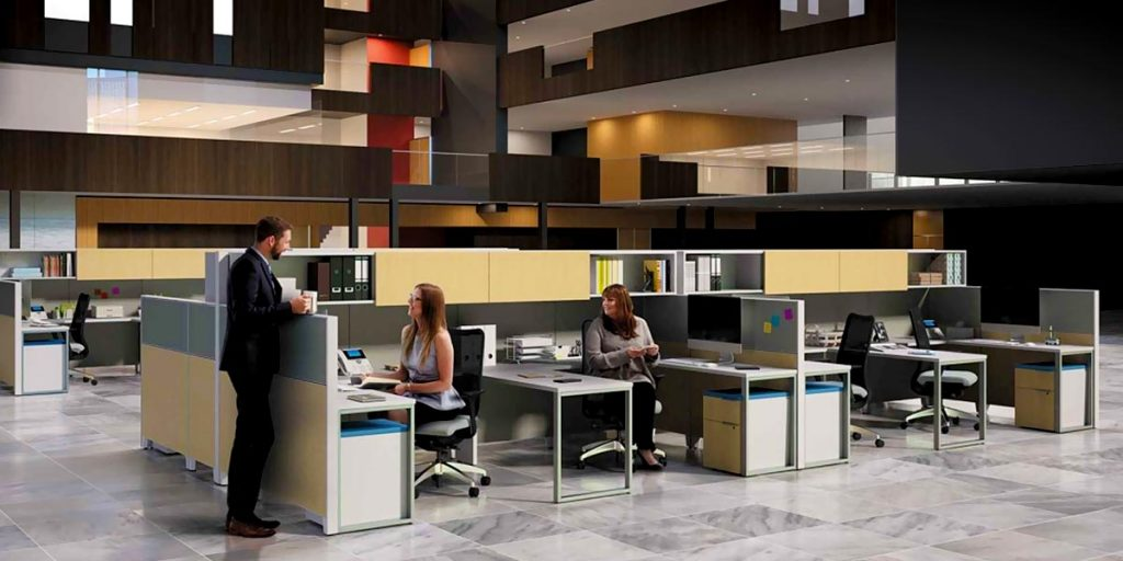 Use Benching Cubicles to Boost Productivity in Orange County