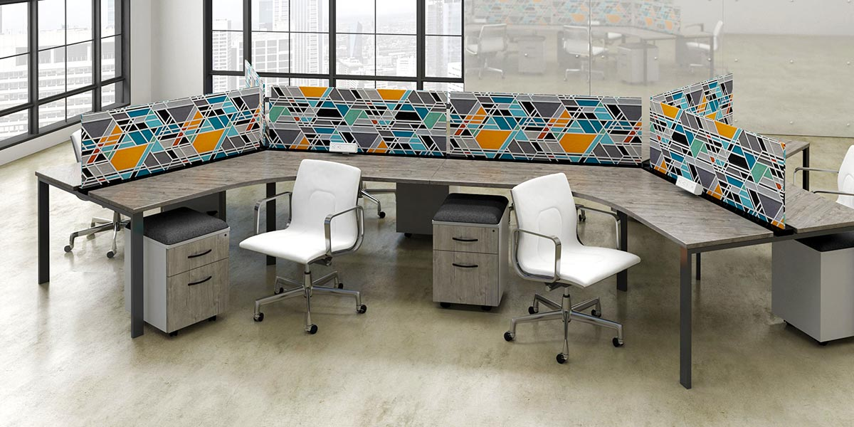 Use Benching Workstations to Maximize Workplace Efficiencies