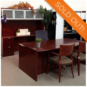 Cherryman Used Jade Executive Desk Set