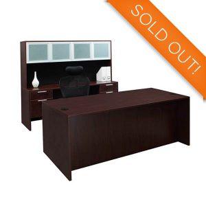 Friant Clearance Sale Gitana Executive Desk Set A