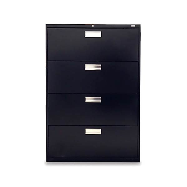 "HON Used 600 Series Lateral File Cabinet 36""W 4-Drawer"