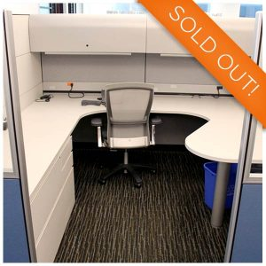 Knoll Used Reff Cubicle 6x8 - 8x8