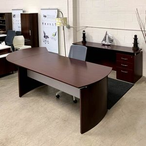 Maverick Used Napa Executive Desk Set A