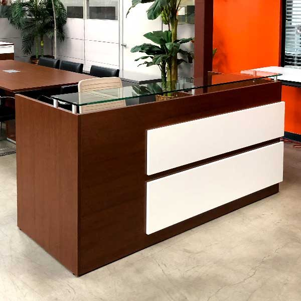 Maverick Used Reception Desk