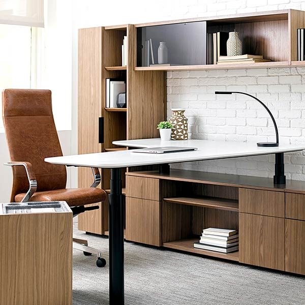 OFS Aptos Height Adjustable Desk