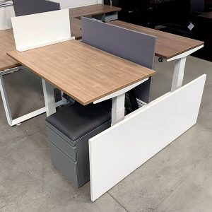 AMQ Used Dual Height Adjustable Workstation