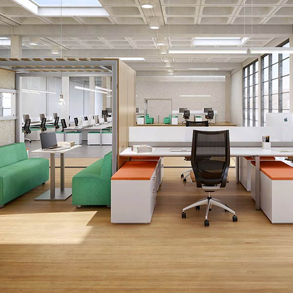 Ofs Re Open Plan Benching 2010 Los Angeles Office Furniture
