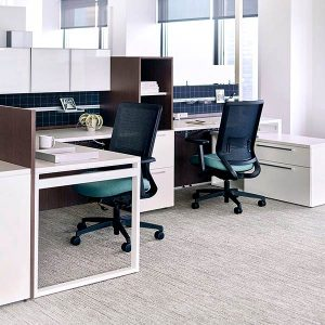 OFS Staks Open Plan Workstation