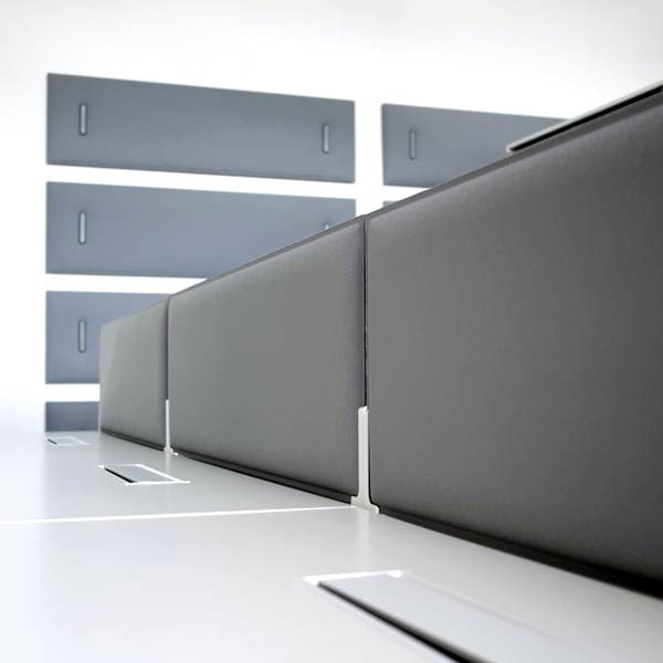 Snowsound Corner Desk Panels