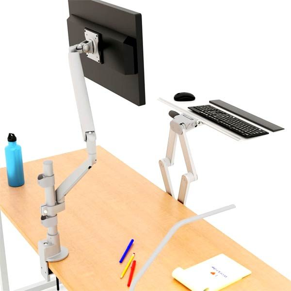 Workrite Conform STS (Sit to Stand) Monitor Arm