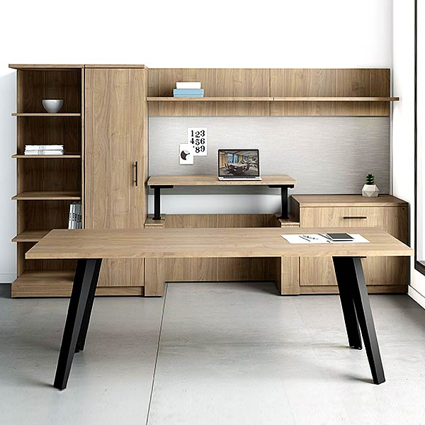 DeskMakers Ascend Height Adjustable Desk