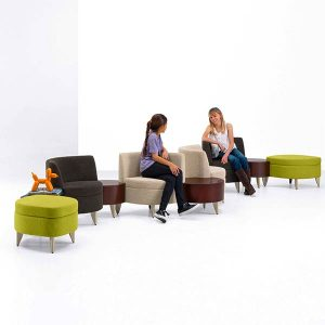 Arcadia Leaflette Lounge Seating and Bench