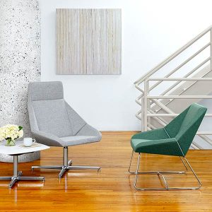 Arcadia Nios Lounge Chair and Bench