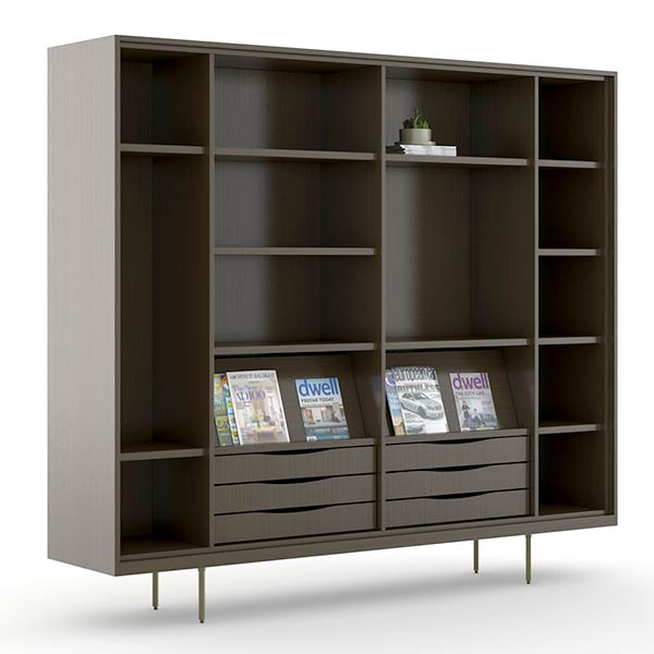 OFS Rowen Shelf and Credenza