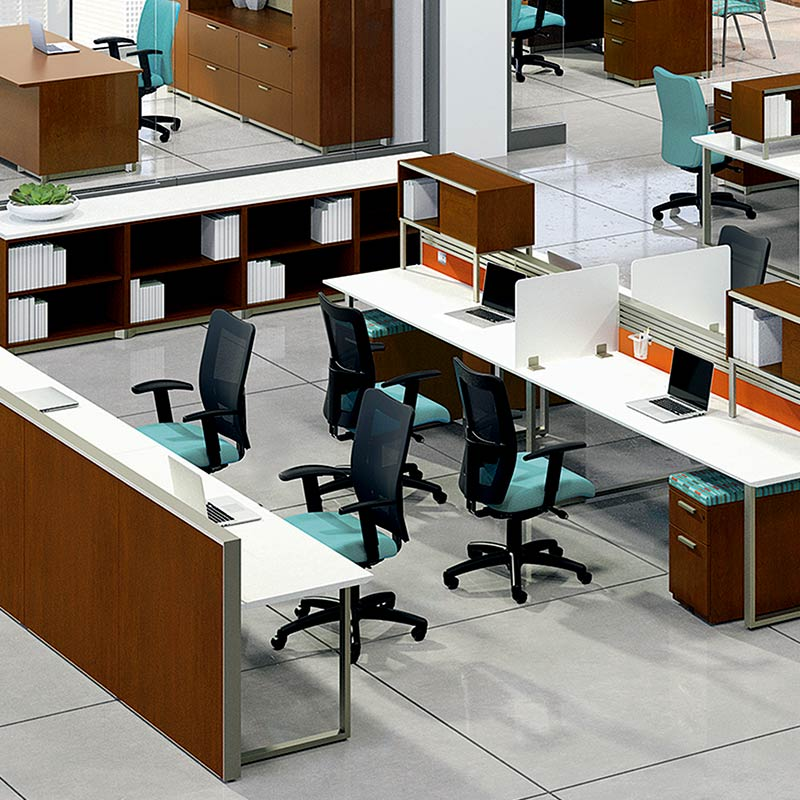 Office Inspirations Open Plan Benching And Desking