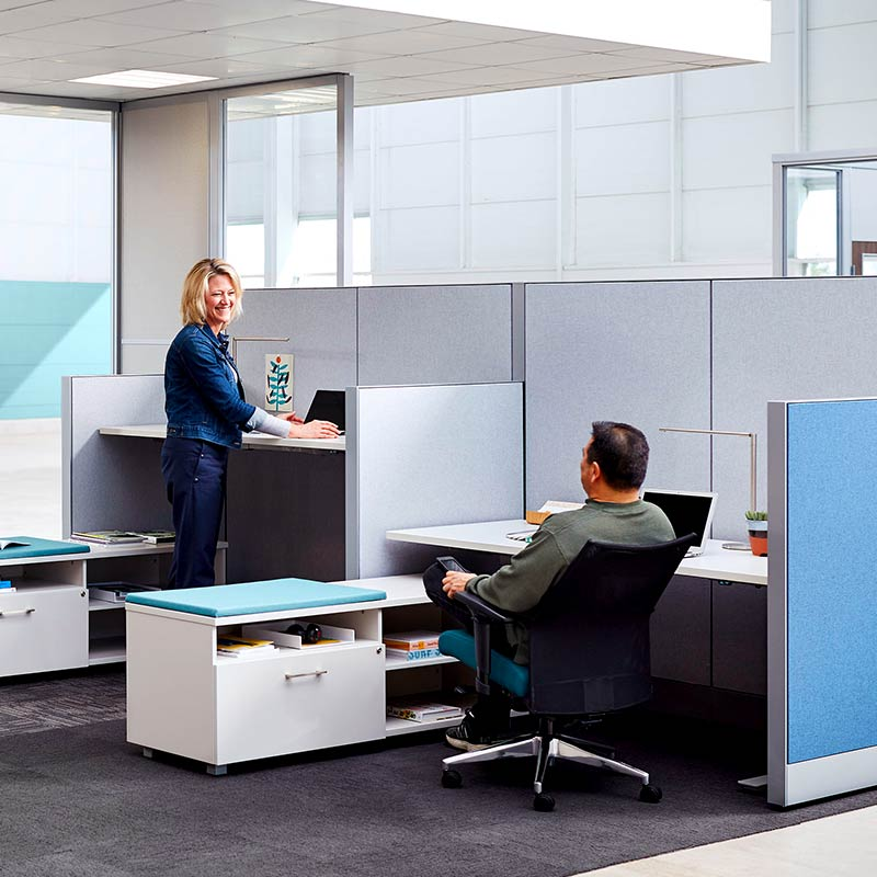Office Inspirations Private And Semi Private Office Cubicles