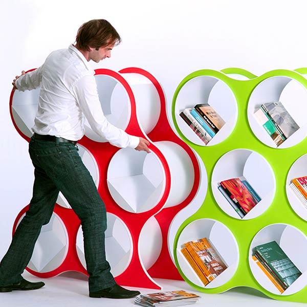 Scale 1:1 Bolla Shelf Storage