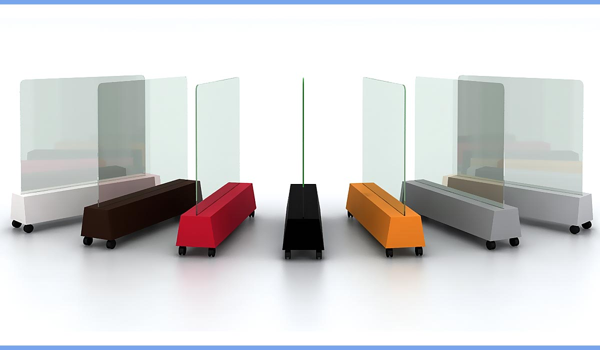 Covid Office Furniture Fulbright Isolate Mobile
